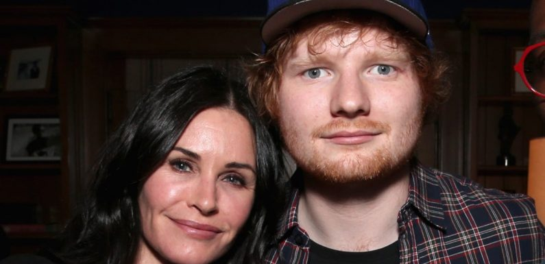 Ed Sheeran and Cherry Seaborn Double Date With Courteney Cox and Johnny McDaid