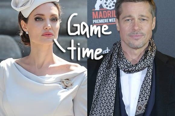 Angelina Jolie Is Going So Hard On Brad Pitt Because The End Of Their Custody Battle Is Reportedly Near!