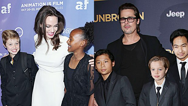 Angelina Jolie Vs. Brad Pitt: Who Takes The Cuter Photos With Their Kids?
