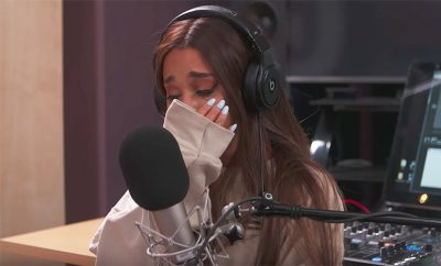 Ariana Grande Crying Manchester Beats 1 Interview, Get Well Soon