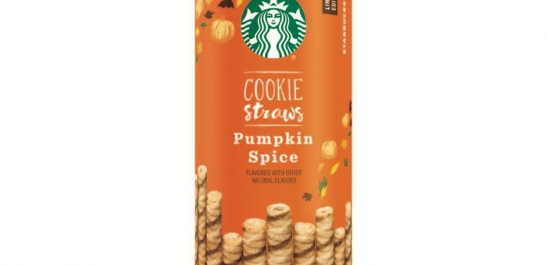 Starbucks Pumpkin Spice Cookie Straws Are The PSL Treat You Need For Fall 2018