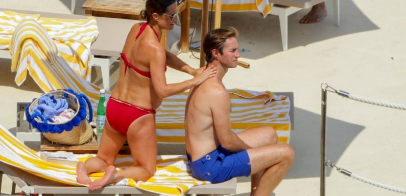 Bikini-Clad Pippa Middleton Looks More Relaxed Than Ever on a Babymoon With James Matthews