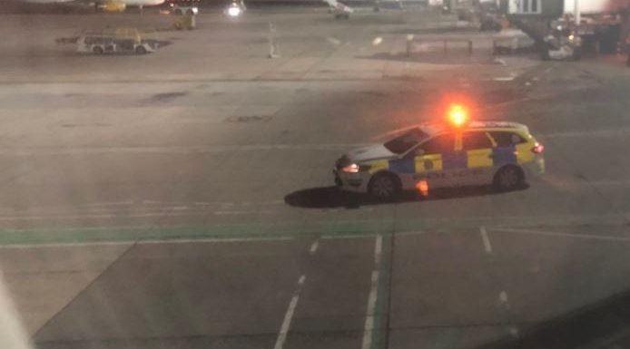 British Airways flight from Gatwick to Ibiza aborted as four passengers hauled off for fighting on Tarmac