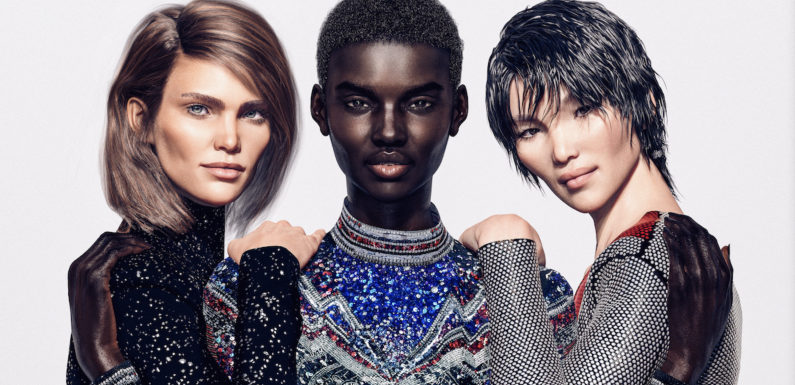 Balmain Has a New Army of Models—And They're All Digitally Created