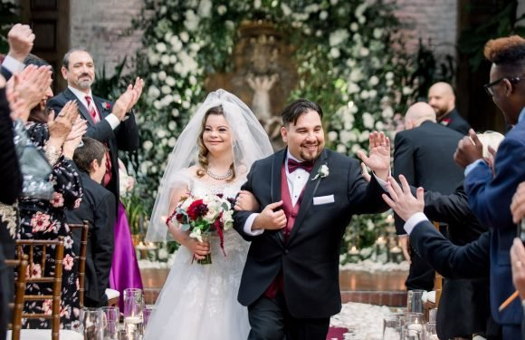 Born This Way Reality Stars with Down Syndrome Marry in Beauty and the Beast-Themed Wedding