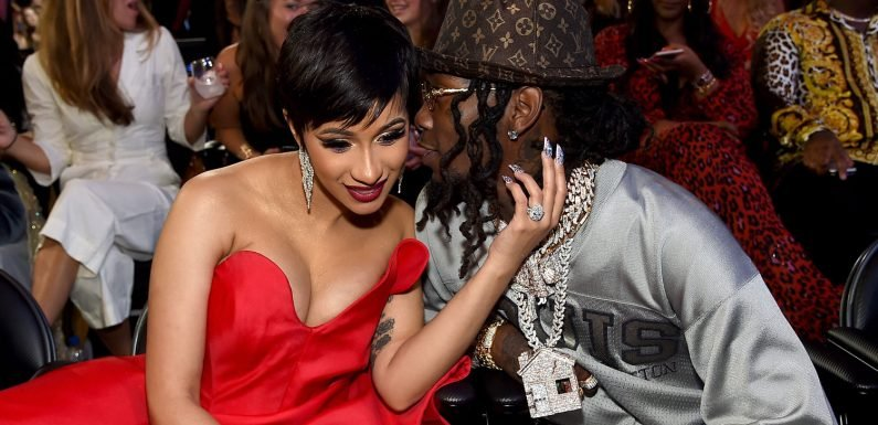 Cardi B & Offset Couple Up in the Audience at MTV VMAs 2018