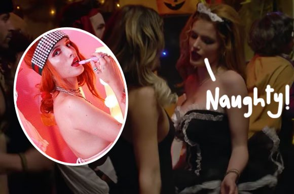 Celebs Scantily Clad In Maid Costumes!