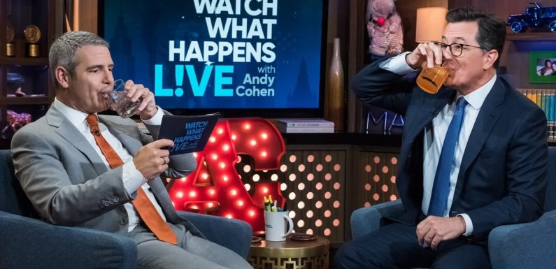 Stephen Colbert Plays Never Have I Ever on 'WWHL,' Before Dissing Ted Cruz and Donald Trump