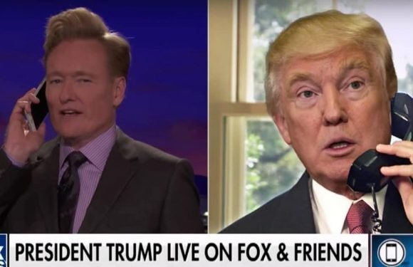 Conan Pretends to Be 'Fox & Friends' to Lure Trump Into Late-Night Phone Call
