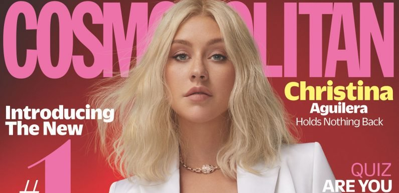 Christina Aguilera Covers Our October Issue and Gets Real About Her 'Rivalry' with Britney and Why She Won't Date a Celeb