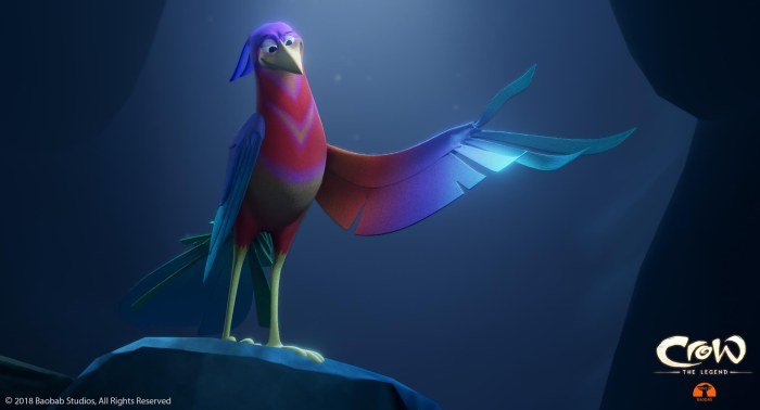 Baobab Studios to Release 2D-Animated Version of VR Short 'Crow: The Legend' (EXCLUSIVE)