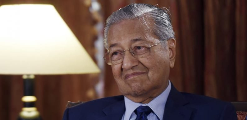 Malaysia's Mahathir aims to scrap multi-billion dollar China deals