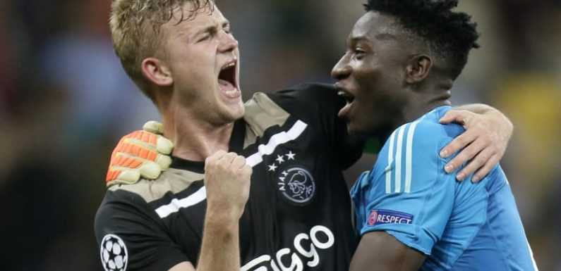 Ajax, Young Boys, AEK reach Champions League group stages