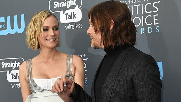Diane Kruger Flashes Bare Baby Bump, Confirming She & Norman Reedus Are Expecting — Pics