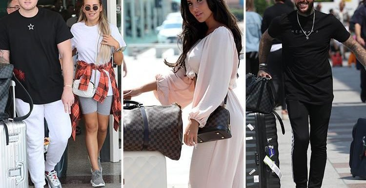 Towie cast reunite as they land in Sardinia to film new series