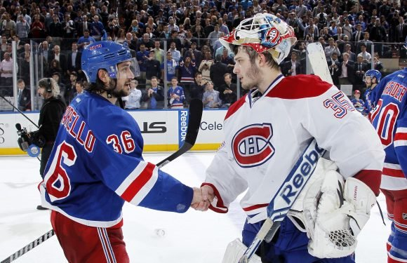 Rangers bring in a one-time enemy as goalie competition