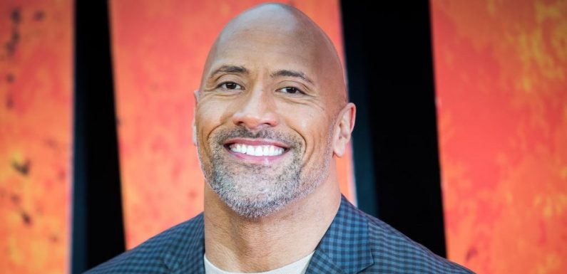 The Rock Pokes Fun at His 'Chunky' Football Days