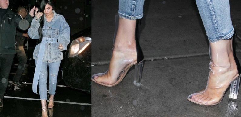 It's Impossible For Kylie Jenner to Get Cold Feet About Anything — Not in These Hot, Sexy Shoes