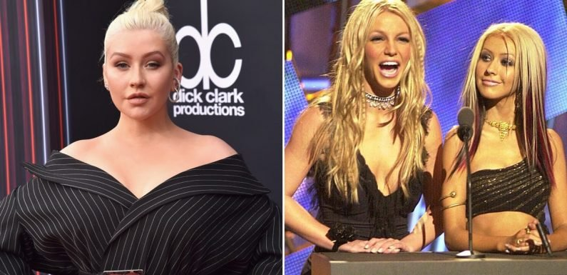 """Christina Aguilera Talks About Being """"Pitted"""" Against Britney Spears in the Early 2000s"""