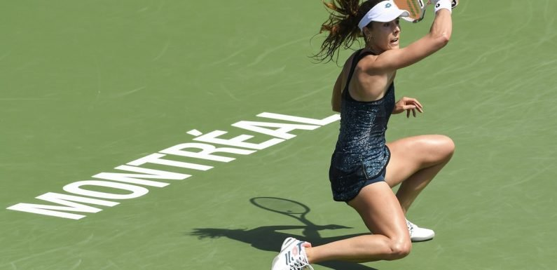 The U.S. Open Penalized Player Alizé Cornet For Showing Her Bra While Fixing Her Shirt