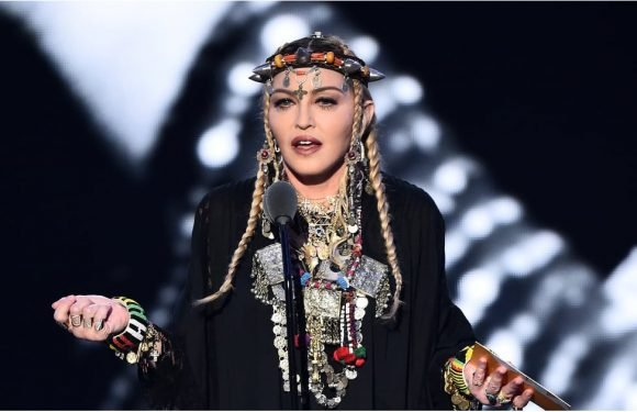 Don't You Dare Let Madonna's VMAs Jewelry Distract You From Her Out-of-This-World Heels