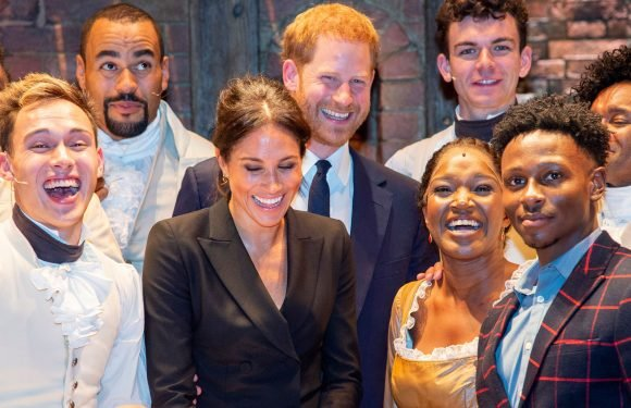 See Every Photo of Prince Harry and Meghan Markle at the 'Hamilton' Gala