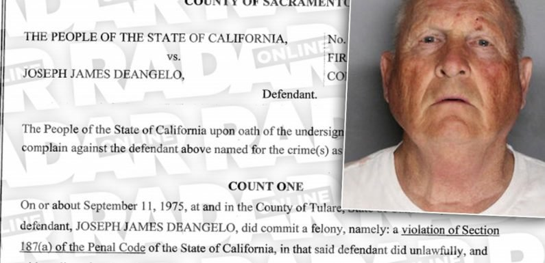 'Golden State Killer' Will Have One Trial For 13 Murder & 18 Rape Charges