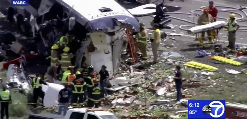 At Least 4 Dead AfterGreyhound Bus and Semi Truck Collide in New Mexico