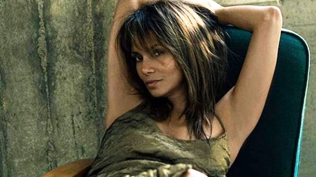 Halle Berry Goes Braless In Wet Tank Top & Panties 1 Day Before She Turns 52