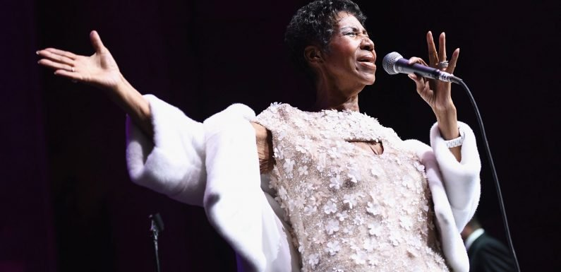 This Is What Aretha Franklin's Final Public Performance Looked Like