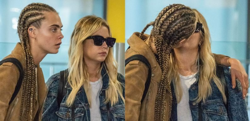 Cara Delevingne & Ashley Benson Were Just Seen Kissing at an Airport