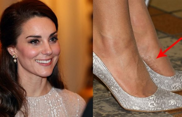 Kate Middleton Has A Genius Hack To Keep Her Shoes From Slipping