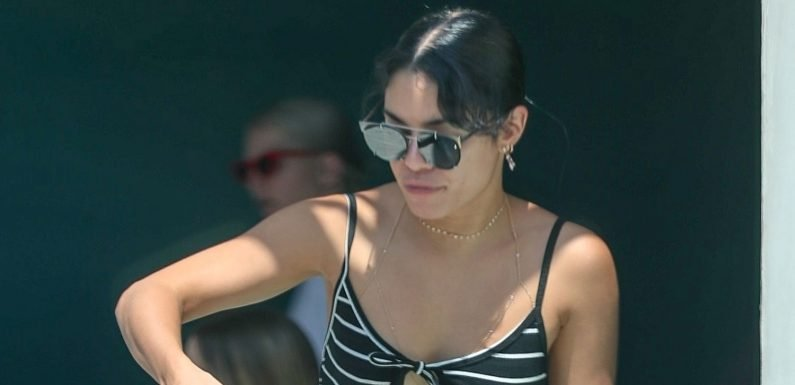 Vanessa Hudgens Shows Off Her Cute Summer Style While Out to Lunch!