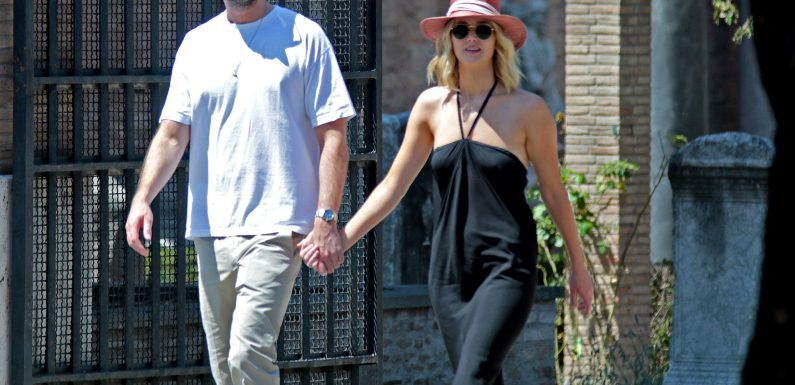 Jennifer Lawrence Holidays in Rome with Boyfriend Cooke Maroney After Her 28th Birthday