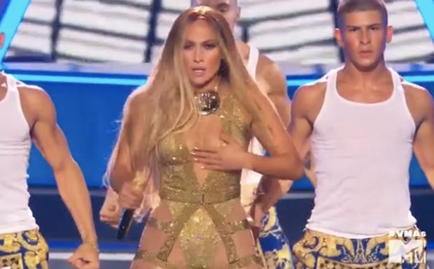 Jennifer Lopez Performs Greatest Hits at 2018 MTV VMAs — Watch & Grade