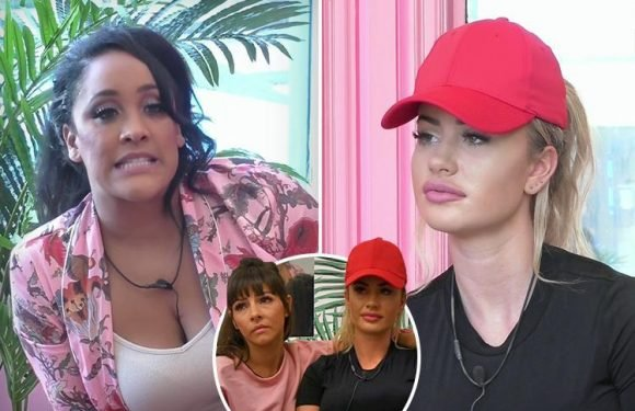 Celebrity Big Brother spoiler: 'Bully' Natalie Nunn tells Chloe Ayling she's not a celebrity after making her cry over a wet chair