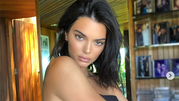 Kendall Jenner Goes Topless & Reveals Bare Nipples In New Pic For 'Love' Magazine