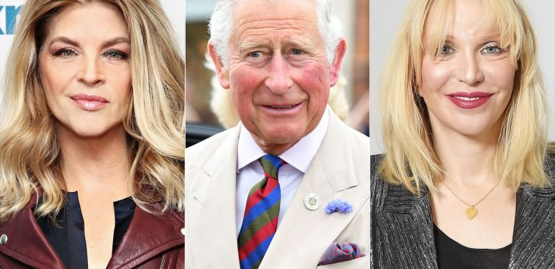 Kirstie Alley Claims She Once Met Prince Charles at Courtney Love's House, Twitter Responds