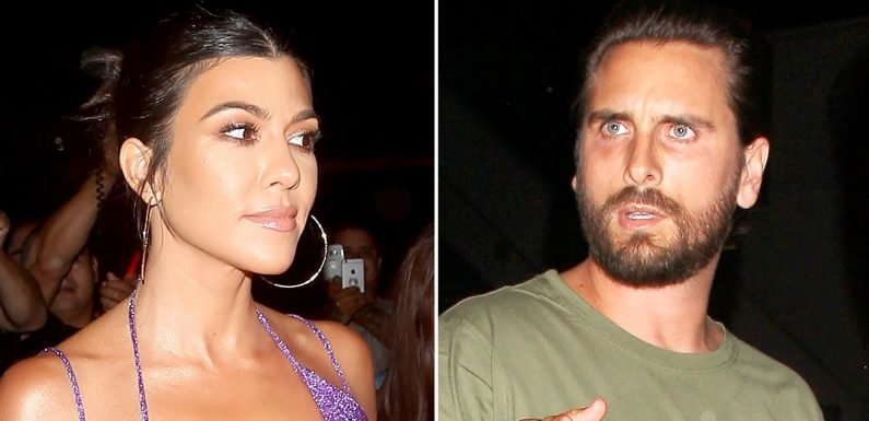 Khloe Trolls Kourt and Scott to Get Back Together at Kylie's Party