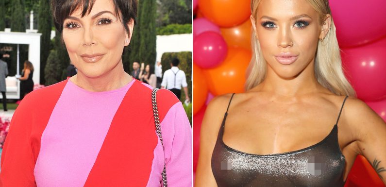 Kris Jenner Hopes Model Who Collapsed at Kylie's Birthday Is 'Okay': That Was 'Past My Bedtime'