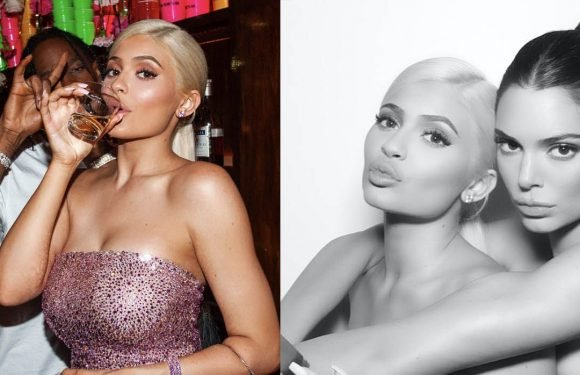 Every Behind-the-Scenes Photo from Kylie Jenner's 21st Birthday Party