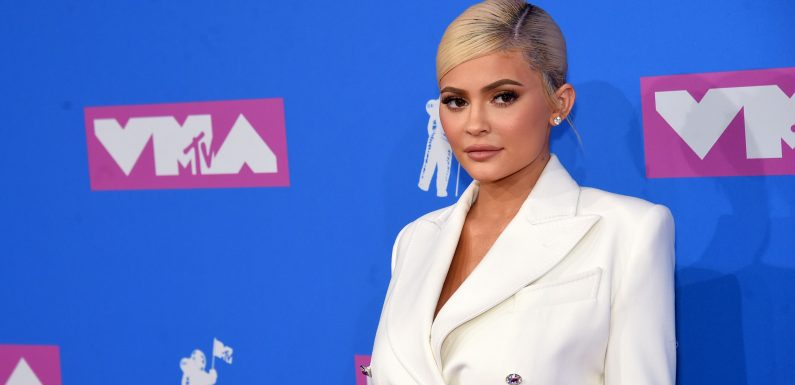 Kylie Jenner Is All Business in a White-Hot Blazer Dress