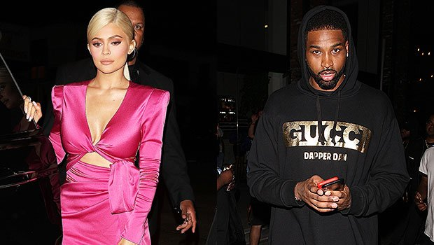 Kylie Jenner Disses Tristan Thompson By Excluding Him From Birthday Family Mural