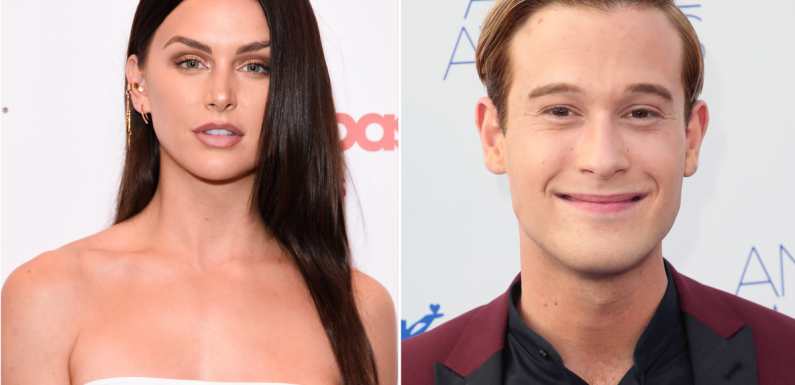Lala Kent films reading with medium Tyler Henry after father's death