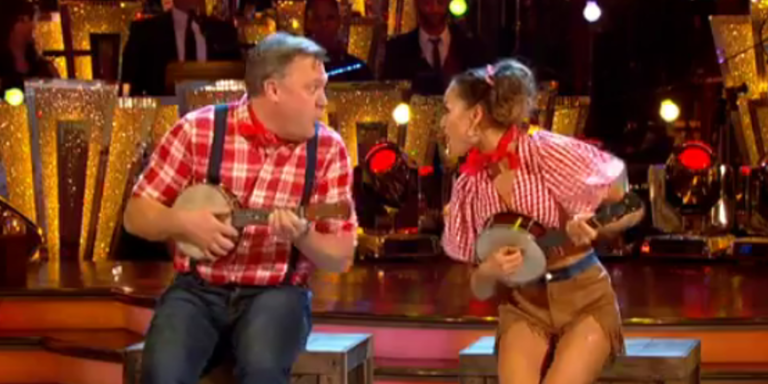 "Ed Balls weighs in on the idea of a Strictly Come Dancing ""handicap"""