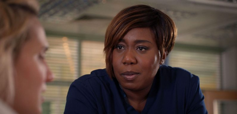 Loose Women's Chizzy Akudolu is returning to Holby City, but only for a short while