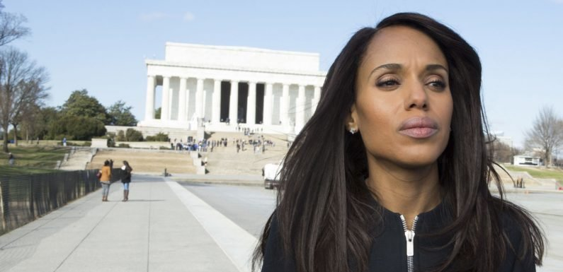 Kerry Washington will turn a hit graphic novel into her next big post-Scandal TV series