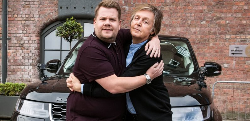 Paul McCartney's Carpool Karaoke gets special 20-minute extended version on The Late Late Show special