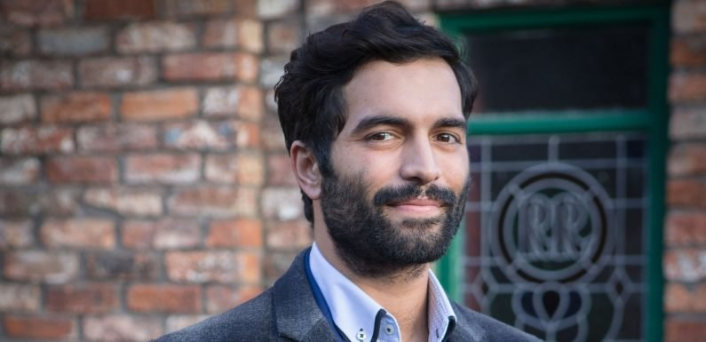 Coronation Street's Imran Habeeb gets a blast from the past after sad death
