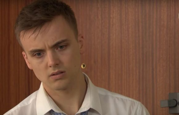 Hollyoaks betrayal discovery as Ste Hay realises Harry has been lying to him